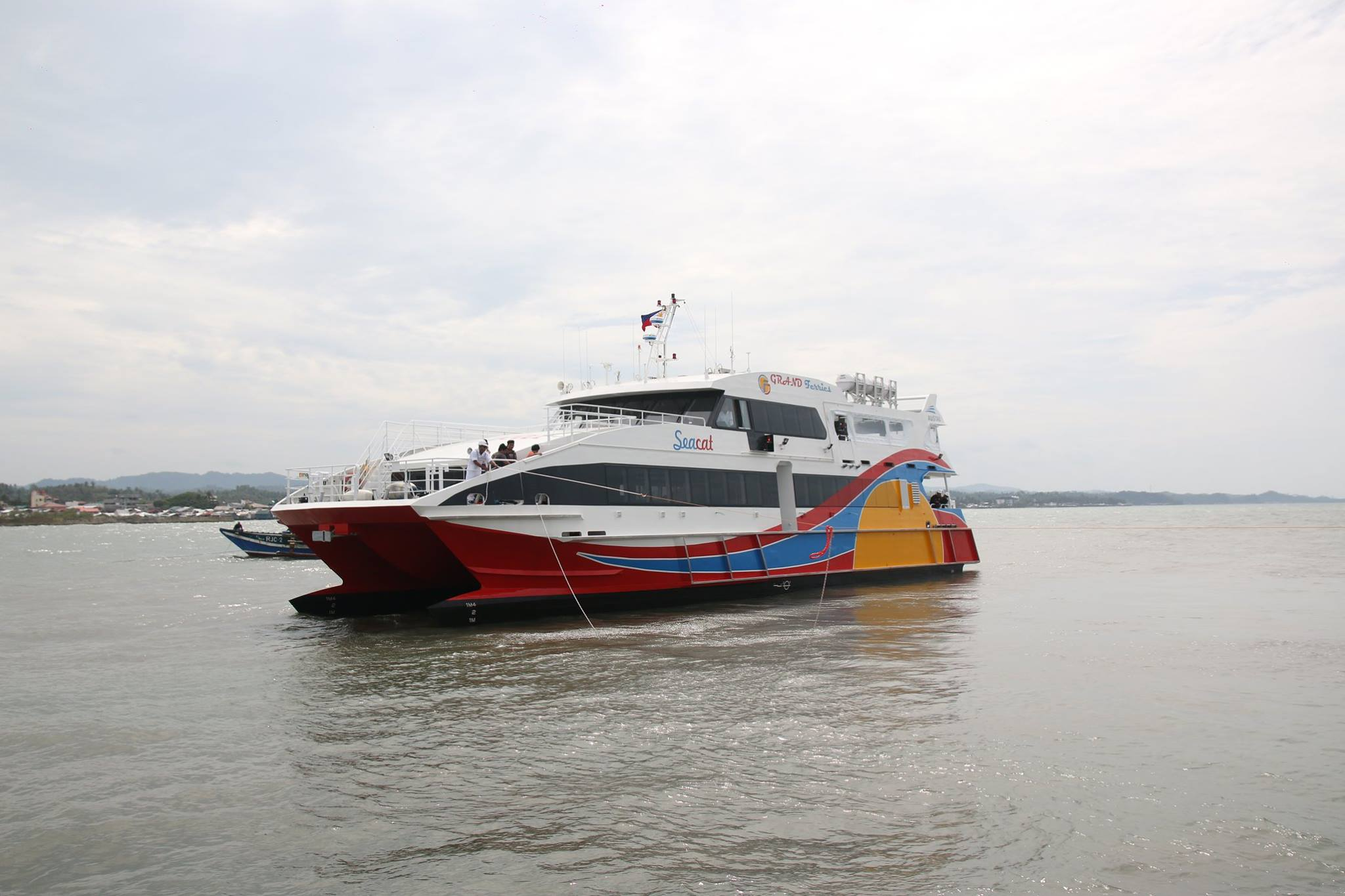 Sea Cat Vessel (Cebu to Calbayog and vice versa)
