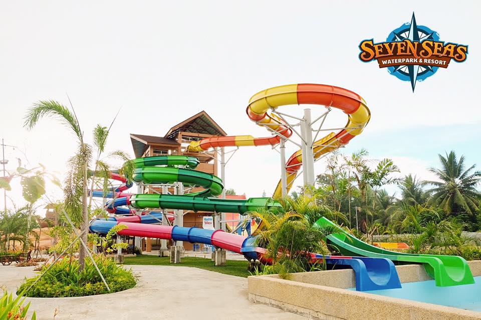 Water slide at Seven Seas in Cagayan de Oro