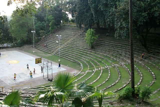 Amahaw Amphitheater with benches in Iligan