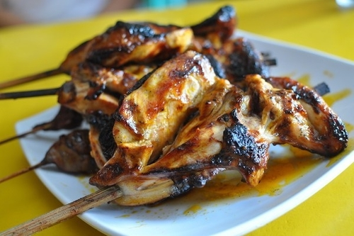 Chicken Barbecue on stick Bacolod Inasal