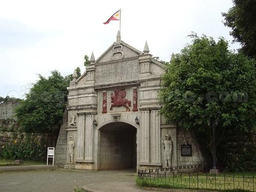 Entrance of Cotta Fort in Ozamiz