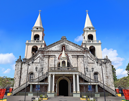 exterior view of the Jaro Cathedral in Iloilo