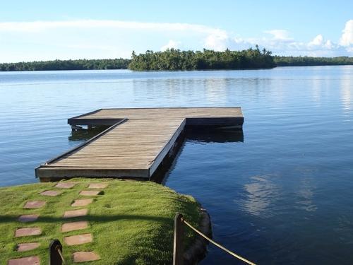 dock in Lake Danao