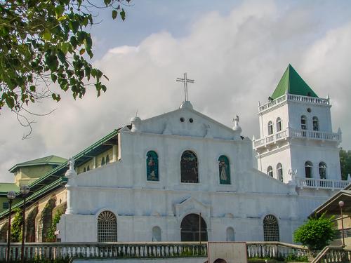 facade of San Isidro Labrador church in Tubigon
