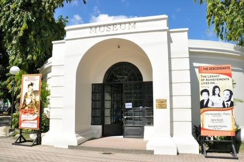 entrance to panublion museum in roxas city
