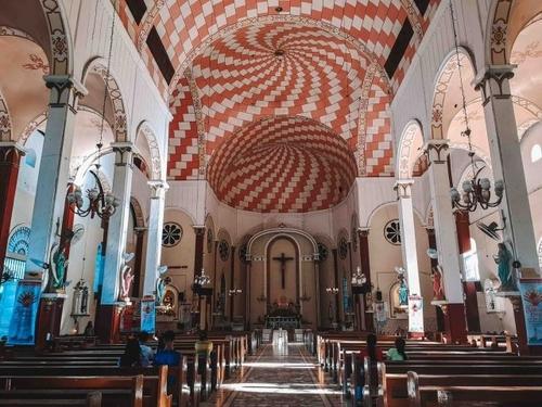 interior shot of st. james church