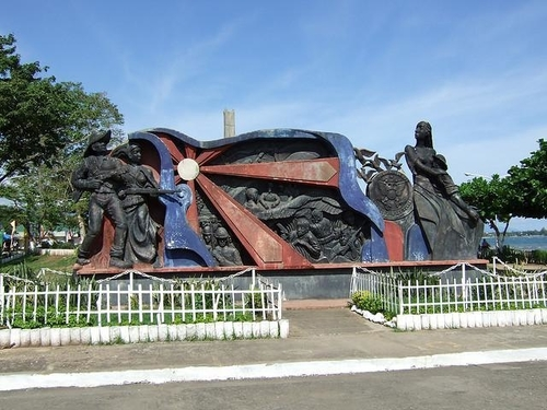 sculpture images at veterans and centennial park in ormoc
