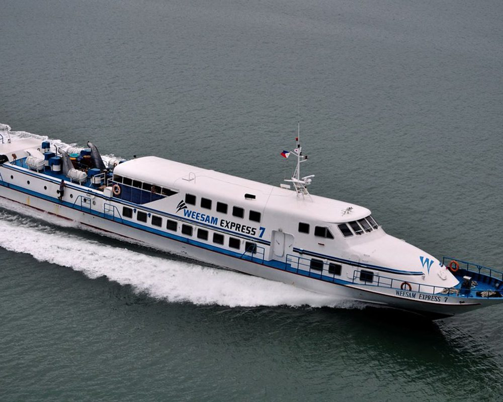 Weesam-express-ferry- Vessel