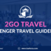 2Go Travel: Passenger Travel Guidelines