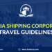 Jomalia Shipping Corporation Travel Guidelines