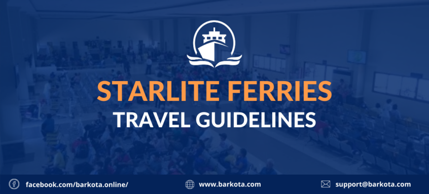 starlite ferries travel guidelines text thumbnail