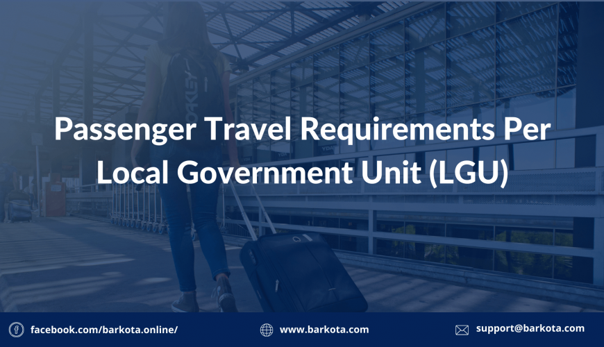 Travel Requirements per LGU