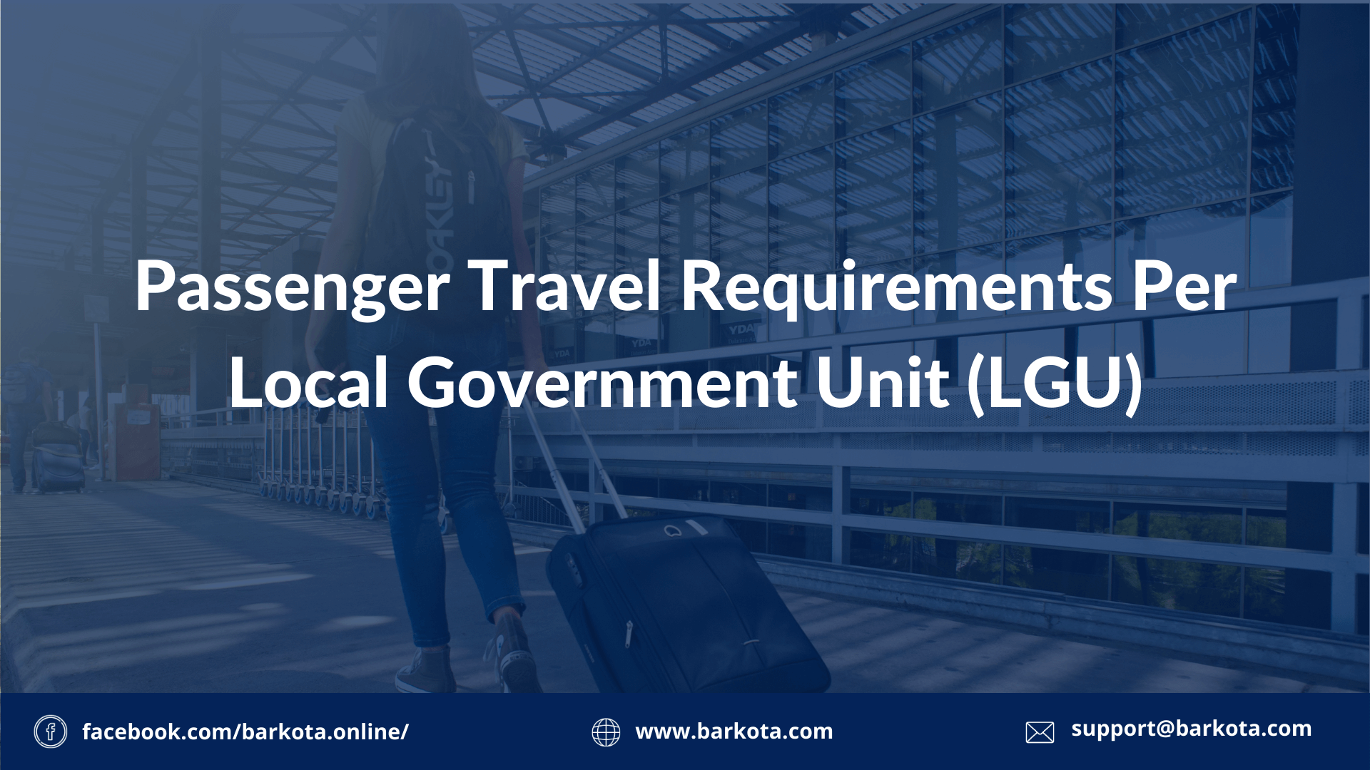 Travel Requirements per LGU