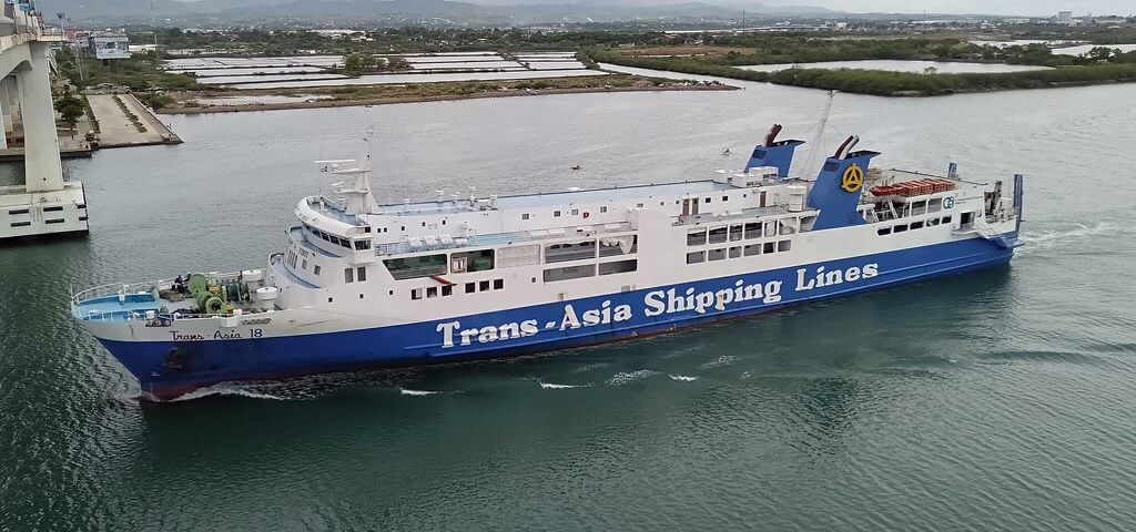 Trans-Asia Shipping Cebu to Ozamiz vessel