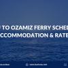 cebu to Ozamiz ferry schedule