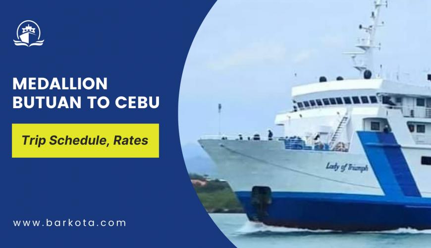 Medallion Butuan to Cebu ferry