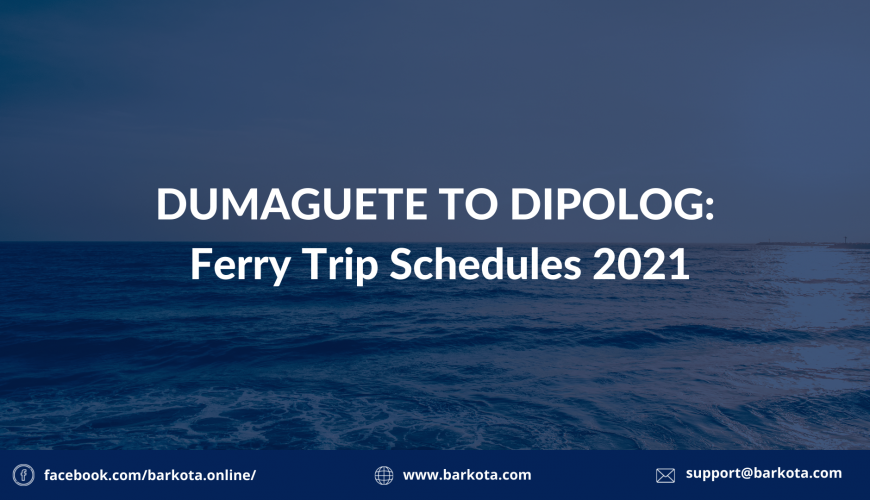 Dumaguete to Dipolog Ferry