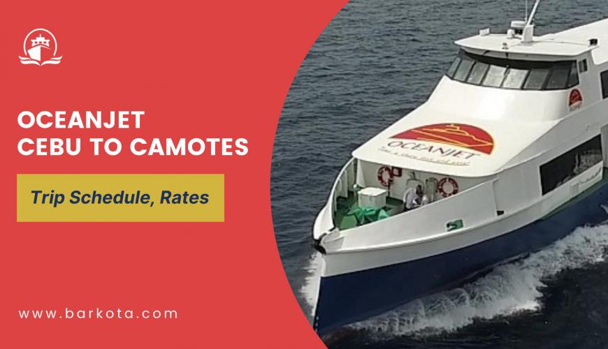 oceanjet cebu to camotes schedule