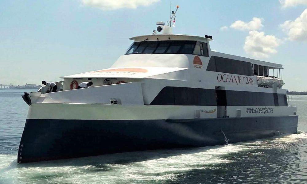 OceanJet Cebu to Tagbilaran fastcraft ferry