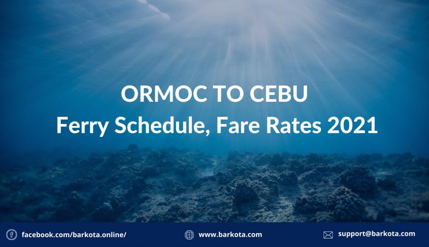 Ormoc to Cebu